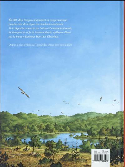 Dos Tocqueville - Vers un nouveau monde