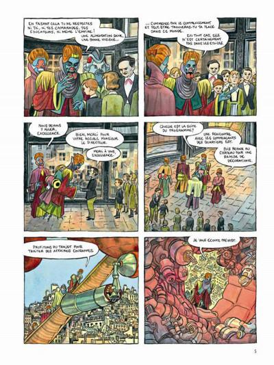 Page 3 Le printemps humain tome 1 - combattants