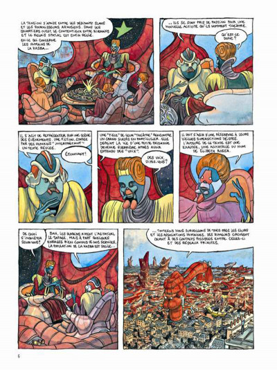 Page 4 Le printemps humain tome 1 - combattants