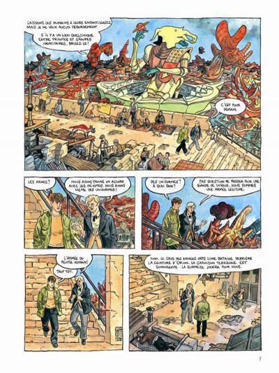 Page 5 Le printemps humain tome 1 - combattants