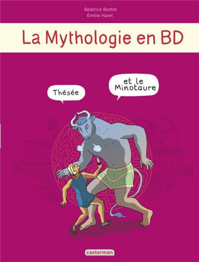 image de La mythologie en BD tome 4 - Thésée et le minotaure