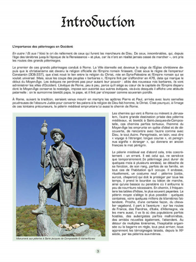 Page 4 Les voyages de Jhen - Les chemins de Compostelle