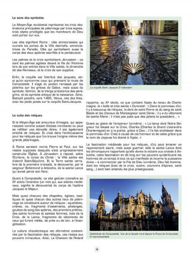 Page 5 Les voyages de Jhen - Les chemins de Compostelle
