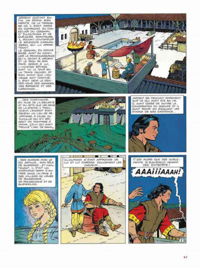 Page 1 Chevalier Ardent intégrale tome 5