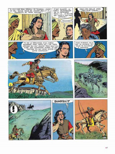 Page 3 Chevalier Ardent intégrale tome 5