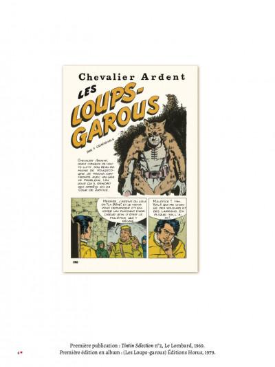 Page 2 Chevalier Ardent - intégrale tome 6 (nouvelle édition)