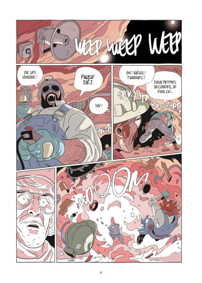 Page 3 Lastman tome 7