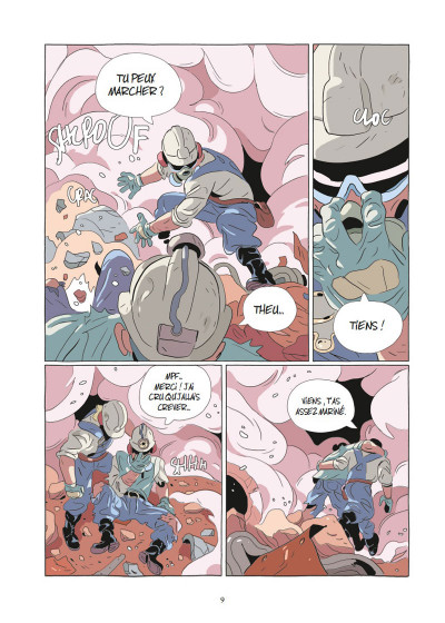 Page 6 Lastman tome 7