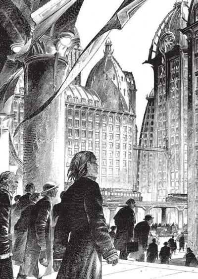 Page 2 Images de Francois Schuiten : des cités obscures à la ville lumière (grand format)