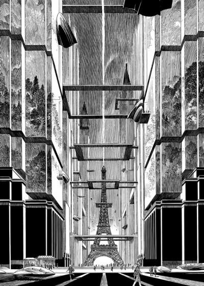 Page 3 Images de Francois Schuiten : des cités obscures à la ville lumière (grand format)