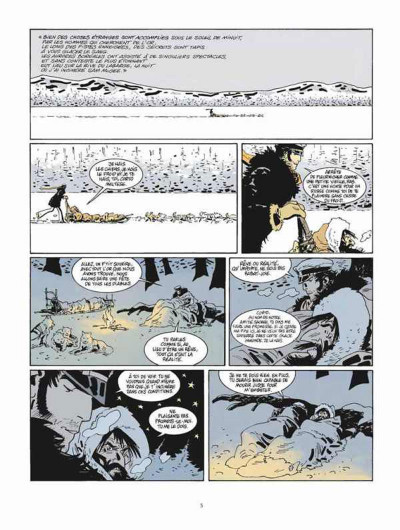 Page 1 Corto Maltese tome 13 - Sous le soleil de minuit