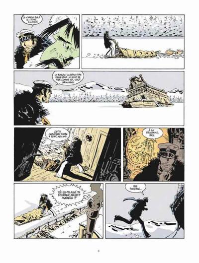 Page 2 Corto Maltese tome 13 - Sous le soleil de minuit