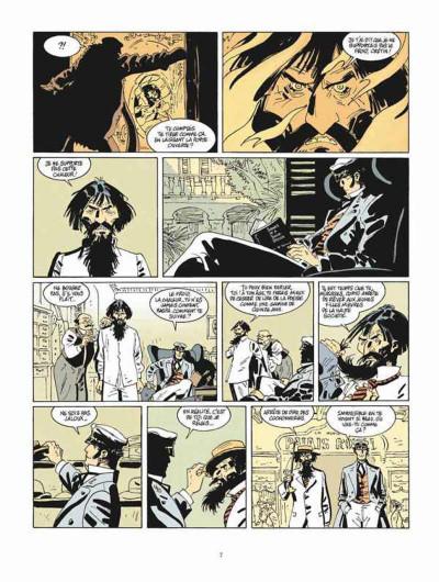 Page 3 Corto Maltese tome 13 - Sous le soleil de minuit