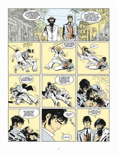 Page 4 Corto Maltese tome 13 - Sous le soleil de minuit