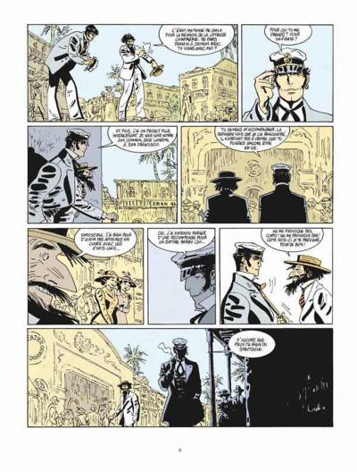 Page 5 Corto Maltese tome 13 - Sous le soleil de minuit