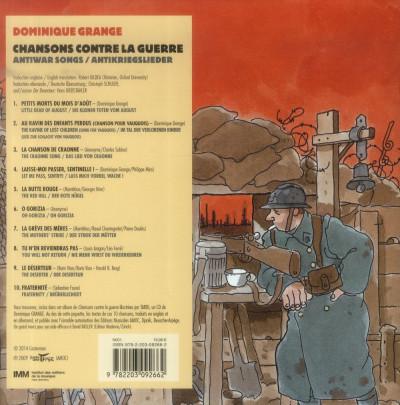 Dos Chansons contre la guerre