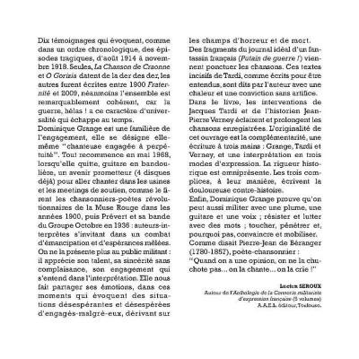 Page 3 Chansons contre la guerre