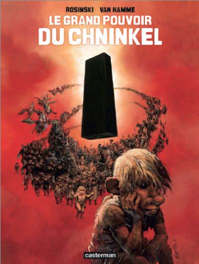 Couverture Le grand pouvoir du chninkel - n&b édition 2014