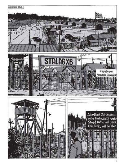 Page 1 Nestor Burma tome 2 - 120 rue de la gare (édition 2015)