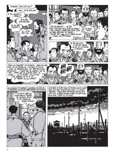 Page 4 Nestor Burma tome 2 - 120 rue de la gare (édition 2015)