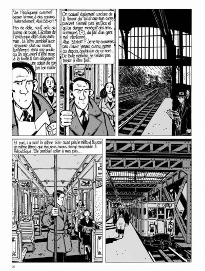 Page 2 Nestor Burma tome 1 - Brouillard au pont de Tolbiac (édition 2015)