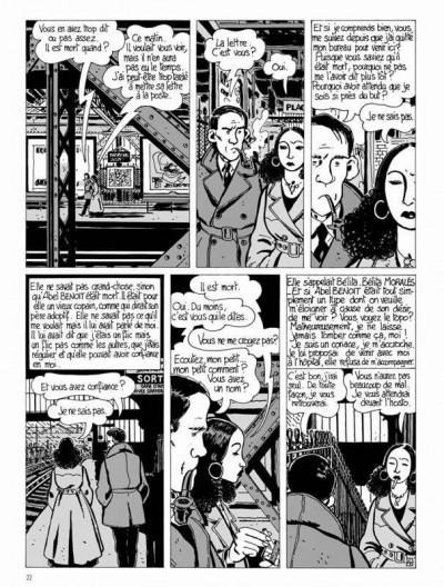 Page 4 Nestor Burma tome 1 - Brouillard au pont de Tolbiac (édition 2015)
