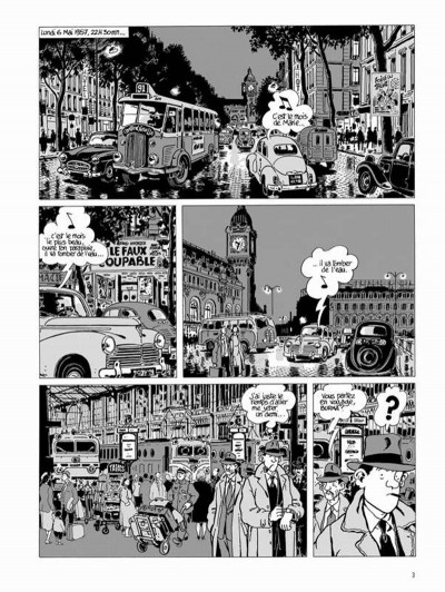 Page 1 Nestor Burma tome 3 - casse-pipe à la nation (édition 2015)