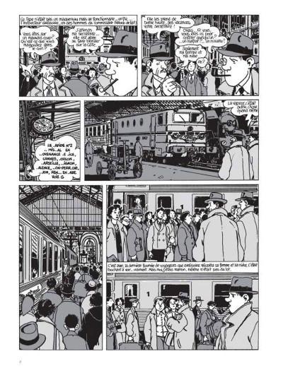 Page 2 Nestor Burma tome 3 - casse-pipe à la nation (édition 2015)