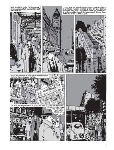 Page 3 Nestor Burma tome 3 - casse-pipe à la nation (édition 2015)