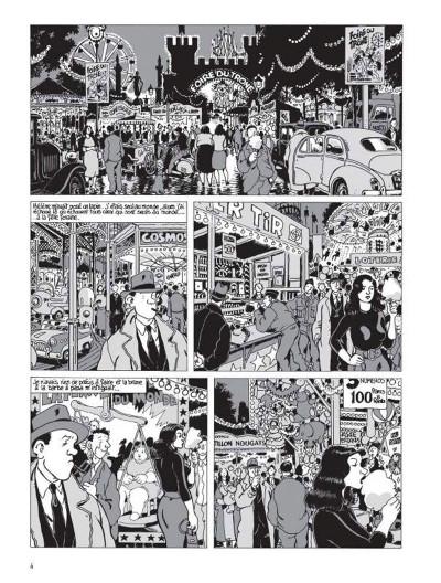 Page 4 Nestor Burma tome 3 - casse-pipe à la nation (édition 2015)