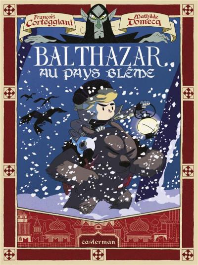 Couverture Balthazar et le secret de l'oeuf d'or