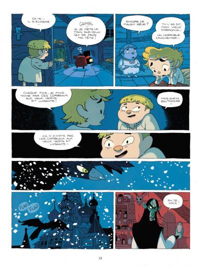 Page 3 Balthazar et le secret de l'oeuf d'or