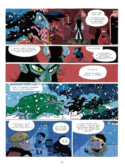 Page 4 Balthazar et le secret de l'oeuf d'or