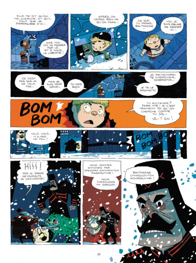 Page 5 Balthazar et le secret de l'oeuf d'or