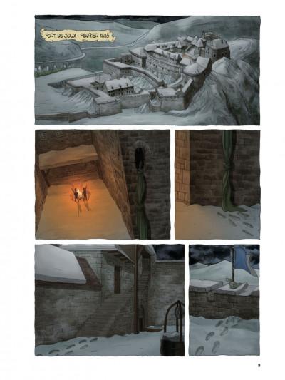 Page 1 Les trois grognards tome 1