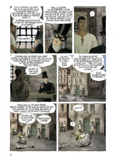 Page 4 Les trois grognards tome 1
