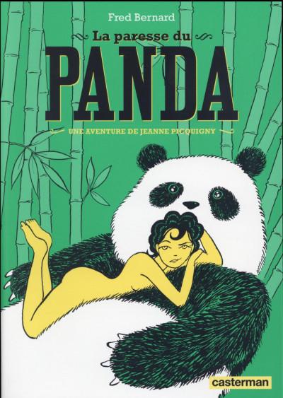 Couverture Une aventure de Jeanne Picquigny tome 4 - La paresse du panda