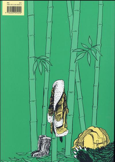 Dos Une aventure de Jeanne Picquigny tome 4 - La paresse du panda