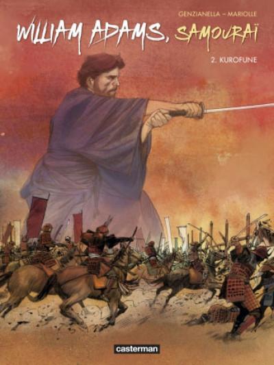 Couverture William Adams samouraï tome 2