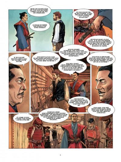 Page 3 William Adams samouraï tome 2
