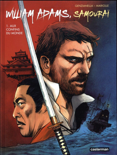 Couverture William Adams samouraï tome 1