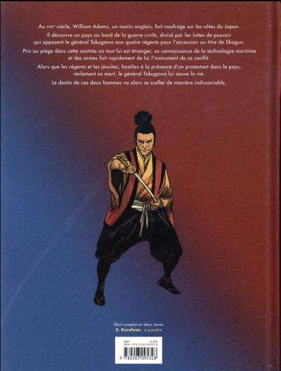 Dos William Adams samouraï tome 1