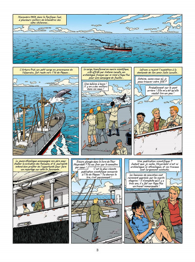Page 4 Lefranc tome 27