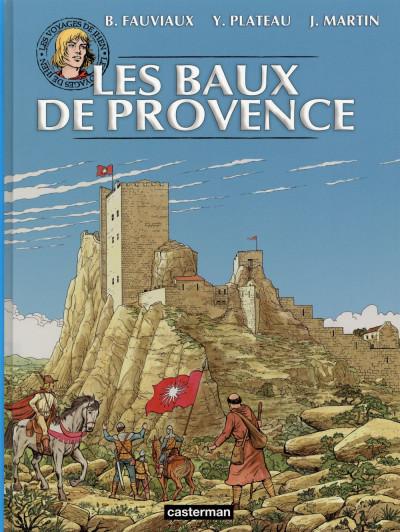 Couverture Les voyages de Jhen - Baux de Provence (édition 2015)