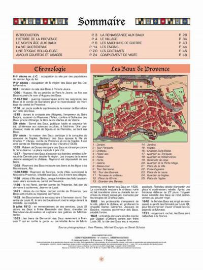 Page 1 Les voyages de Jhen - Baux de Provence (édition 2015)