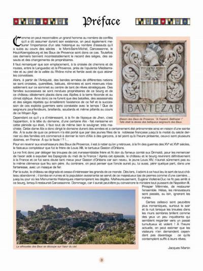 Page 2 Les voyages de Jhen - Baux de Provence (édition 2015)