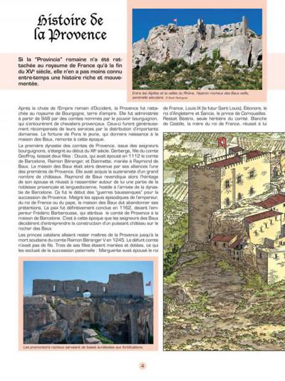 Page 3 Les voyages de Jhen - Baux de Provence (édition 2015)