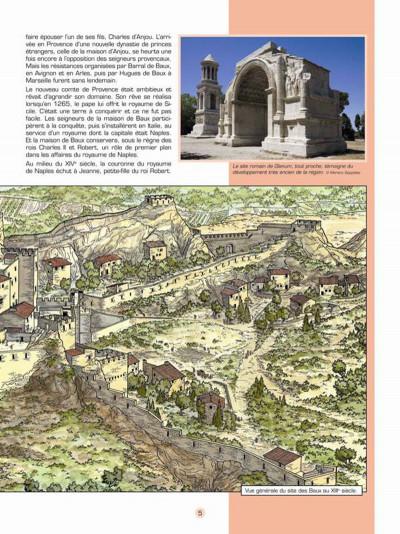 Page 4 Les voyages de Jhen - Baux de Provence (édition 2015)