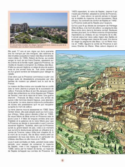Page 5 Les voyages de Jhen - Baux de Provence (édition 2015)