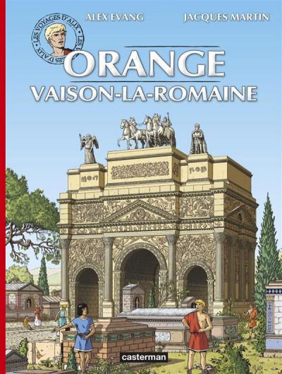 image de Les voyages d'Alix - Orange et Vaison-La-Romaine
